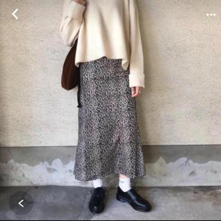 Kastane - カスタネ レオパード マーメイドスカート
