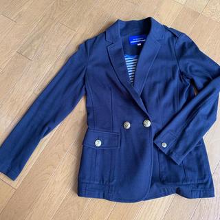 バーバリーブルーレーベル(BURBERRY BLUE LABEL)のバーバリーブルーレーベル スウェットジャケット 36(テーラードジャケット)