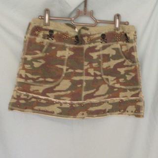 ローズバッド(ROSE BUD)のROSE BUD ミリタリー柄 ミニスカート Mサイズ(ミニスカート)
