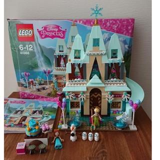 LEGO レゴ 41068 ディズニープリンセス アナとエルサのアレンデール城(積み木/ブロック)