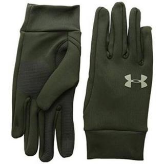 アンダーアーマー(UNDER ARMOUR)のラスト1 アンダーアーマー 手袋 MD グリーン グローブ 防寒 メンズ 冬用(手袋)