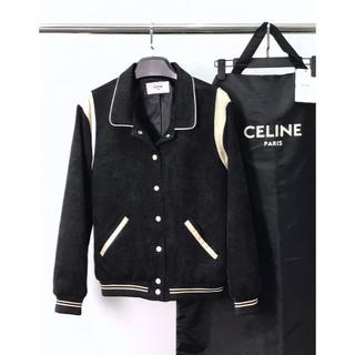 セリーヌ(celine)の【CELINE】テディブルゾン / コーデュロイ (Black)(ブルゾン)