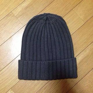 アングリッド(Ungrid)のリブ編みニット帽 値下げ‼︎(ニット帽/ビーニー)
