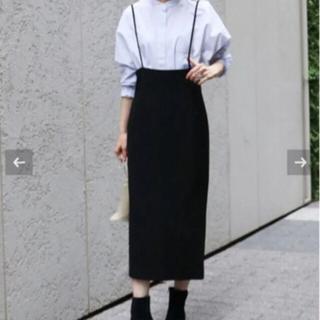 Noble - ショルダーストラップサロペットスカート【サイズ40】
