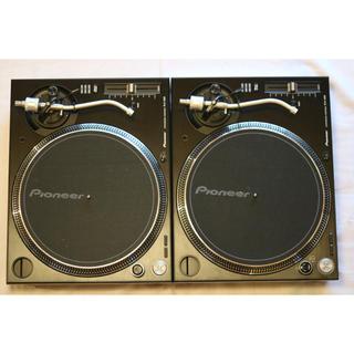 パイオニア(Pioneer)のpioneer plx-1000 2台セット【美品】【ほぼ未使用】(ターンテーブル)