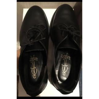 アシナガオジサン(あしながおじさん)のあしながおじさん 黒本革ローファー(ローファー/革靴)