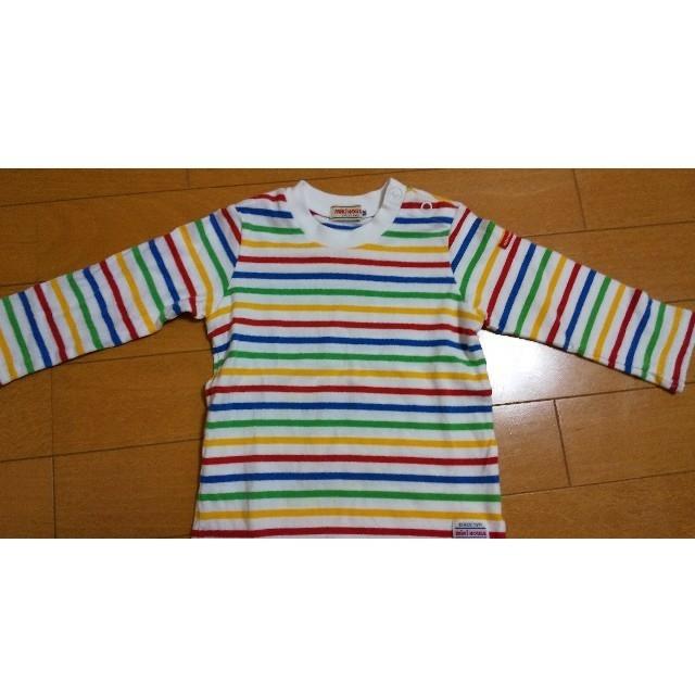 mikihouse(ミキハウス)のミキハウス 長袖Tシャツ 80cm  キッズ/ベビー/マタニティのベビー服(~85cm)(シャツ/カットソー)の商品写真