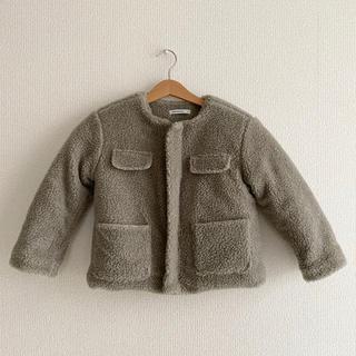 プティマイン(petit main)の最終価格!韓国子供服○ボアジャケット(ジャケット/上着)