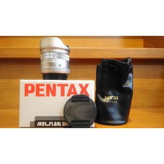 PENTAX - FA 31mm f1.8 limited