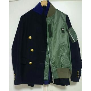 サカイ(sacai)のsacai 2018aw MA-1 ドッキング コート  ジャケット(ブルゾン)