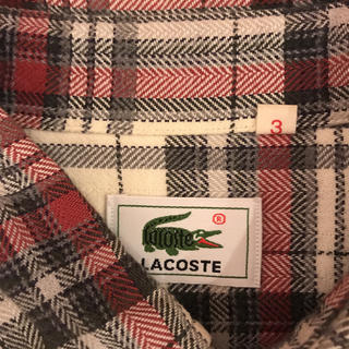 ラコステ(LACOSTE)のラコステ チェックシャツ(シャツ)