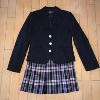 イーストボーイ(EASTBOY)のEAST BOY スカートとXOXOジャケット スーツ 卒服 セットアップ(ミニスカート)