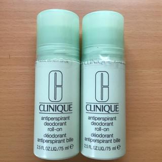 クリニーク(CLINIQUE)の新品 クリニーク アンティパースパイラント デオドラント ロールオン 2本セット(制汗/デオドラント剤)