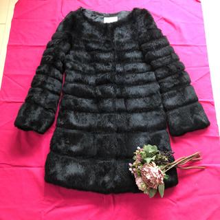 ルシェルブルー(LE CIEL BLEU)のアンシャントマン 本物 毛皮 コート(毛皮/ファーコート)