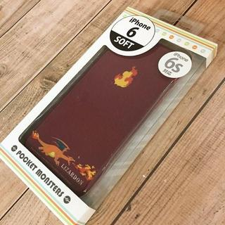ポケモン(ポケモン)のリザードン iPhone6s/6 スマホケース POKE517D(iPhoneケース)