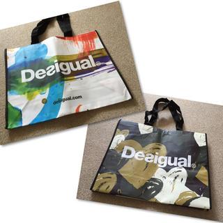 デシグアル(DESIGUAL)の新品!2枚組!デシグアル/ショッパー(ショップ袋)
