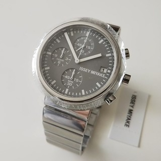 セイコー(SEIKO)のイッセイミヤケ 深澤直人 SEIKOクロノグラフ腕時計 TRAPEZOID(腕時計(アナログ))
