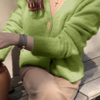 ザラ(ZARA)のニット💕大きなボタンがポイント オシャレ💕(ニット/セーター)