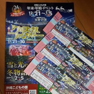 沖縄こどもの国 クリスマス チケット(遊園地/テーマパーク)