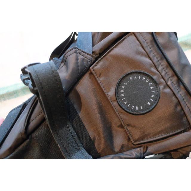 【新品】 fairweather   seat bag ブラウン スポーツ/アウトドアの自転車(バッグ)の商品写真