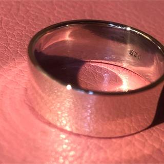 平打ち シルバー925 リング  24号 シンプル ワイド 幅広 メンズ 銀指輪(リング(指輪))
