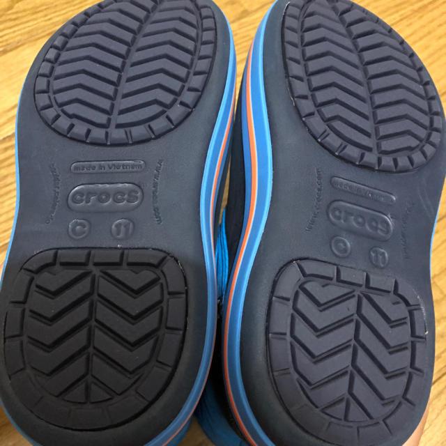 crocs(クロックス)のほぼ新品 クロックス スノーブーツ 18cm キッズ/ベビー/マタニティのキッズ靴/シューズ(15cm~)(ブーツ)の商品写真