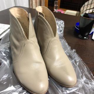(新品同様)値下げ❗️cocaの牛革ショートブーツ 22cm(ブーツ)