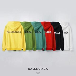 Balenciaga - 【ブラックM】「2枚10000円送料込み」バレンシアガBALENCIAGAパーカ