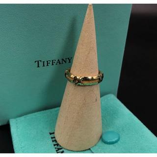 ティファニー(Tiffany & Co.)の希少 美品 ティファニー ゴールド アトラス リング BO67(リング(指輪))