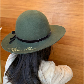 メゾピアノ(mezzo piano)のキッズ ハット(帽子)