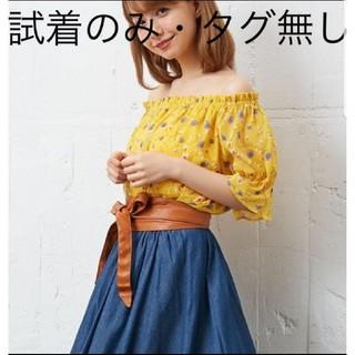 INGNI - 新品未使用INGNIイングお花柄トップス