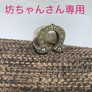 テンダーロイン(TENDERLOIN)の『坊ちゃんさん専用』テンダーロイン ホースシューリング ダイヤ(リング(指輪))