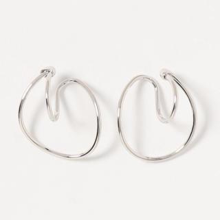フリークスストア(FREAK'S STORE)のDouble hoop silver earcuff No.217(イヤーカフ)