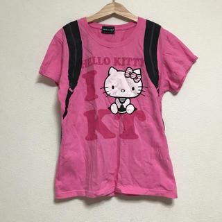 ハローキティ(ハローキティ)の送料込 ハローキティ  Tシャツ M(Tシャツ(半袖/袖なし))