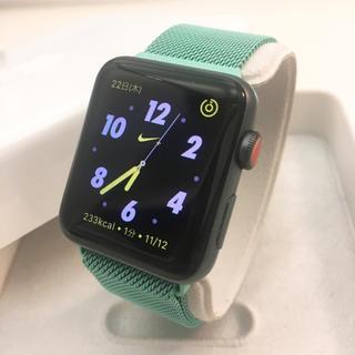 Apple Watch - Apple Watch series3 NIKE セルラー 42mm