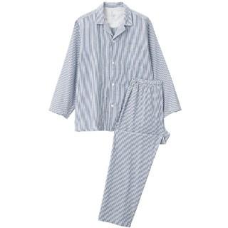 ムジルシリョウヒン(MUJI (無印良品))の無印 脇に縫い目のない パジャマ メンズ(スウェット)
