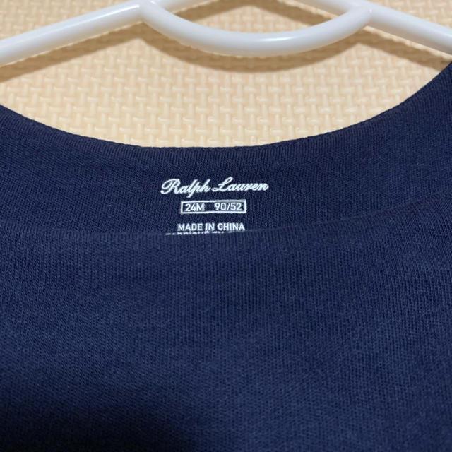 Ralph Lauren(ラルフローレン)のラルフローレン  ワンピース 90 キッズ/ベビー/マタニティのキッズ服女の子用(90cm~)(ワンピース)の商品写真