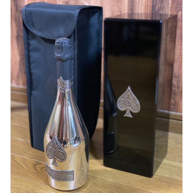 Dom Pérignon(ドンペリニヨン)の新品 アルマンドブリニャック シルバー 食品/飲料/酒の酒(シャンパン/スパークリングワイン)の商品写真