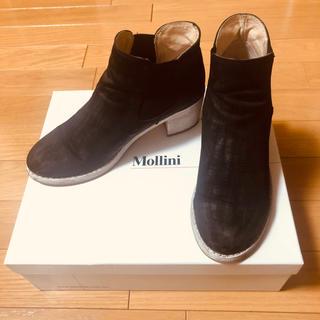 ビームス(BEAMS)のMollini サイドゴアショートブーツ(ブーツ)