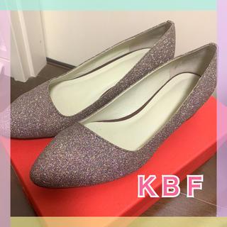 ケービーエフ(KBF)のKBF☆グリッターパンプス(ハイヒール/パンプス)