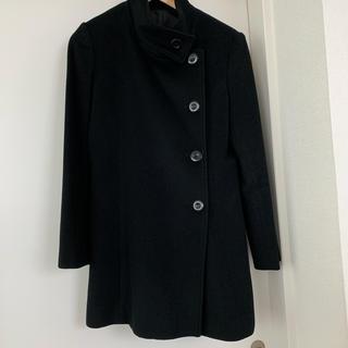 アールユー(RU)のRU アールユー マルイ ウールコート ブラック 黒 サイズ3(ロングコート)