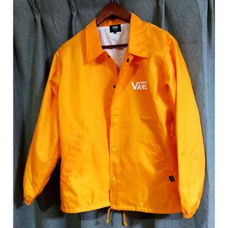 ヴァンズ(VANS)のVans coach jacket orange コーチジャケット オレンジ(ナイロンジャケット)