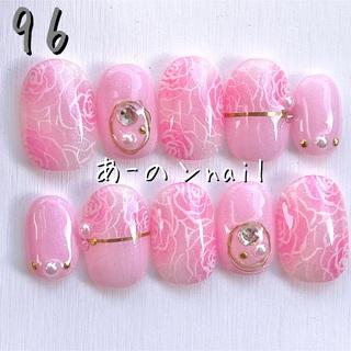 送料&カラー変更1色無料«96»ジェルネイルチップ♡*゜