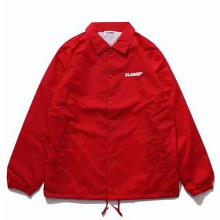 エクストララージ(XLARGE)のxlarge og logo coaches jacket red Sサイズ(ナイロンジャケット)