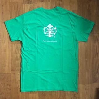 スターバックスコーヒー(Starbucks Coffee)のStarbucks community service Tシャツ非売品(Tシャツ/カットソー(半袖/袖なし))
