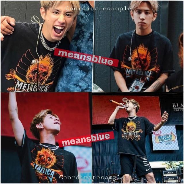 ONE OK ROCK(ワンオクロック)のXXL◆長袖T METALLICA  反逆者 ロングスリーブTシャツ メンズのトップス(Tシャツ/カットソー(七分/長袖))の商品写真