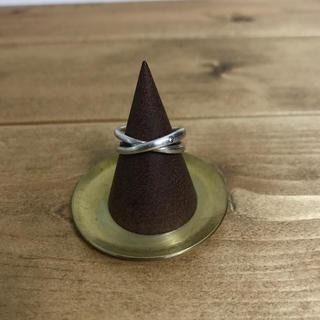 ジルコニア付きシルバーリング(リング(指輪))