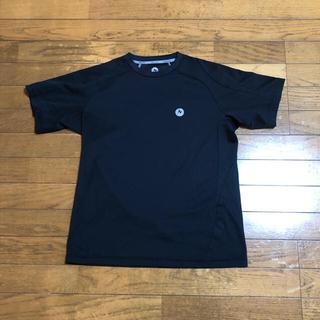 マーモット(MARMOT)の【即購入歓迎】Marmot メンズTシャツ 黒色 Lサイズ(Tシャツ/カットソー(半袖/袖なし))