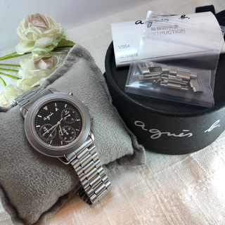 agnes b. - 美品 アニエスベー❤︎腕時計 【電池交換済み】