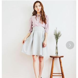 ティティアンドコー(titty&co)の新品未使用45%off♡titty&Co.チェックスカート(ひざ丈スカート)